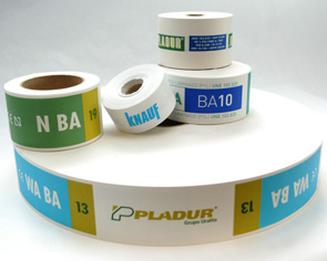 Plasterboard packaging and identification