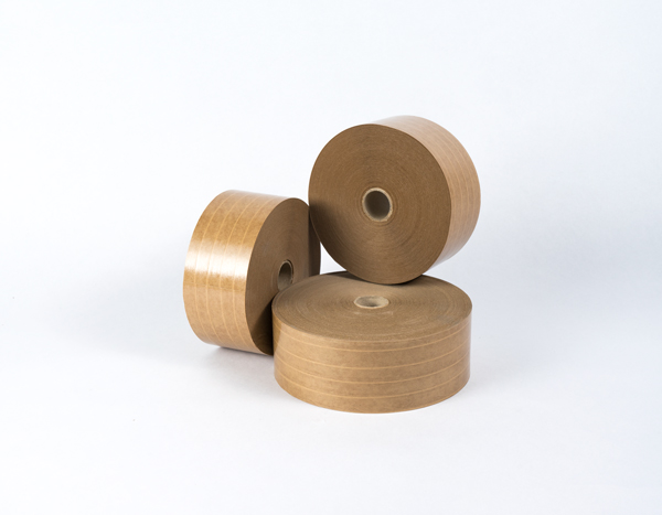 kraft gummed reinforced brown H-3 water activated tape IBERGUM